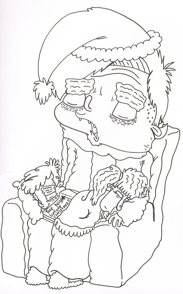 a christmas story coloring pages - photo#20
