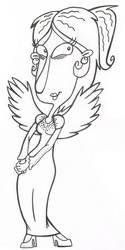 Mimi as the Rare Bird by sixteen6stars
