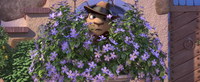 The Flower Bush is a spy
