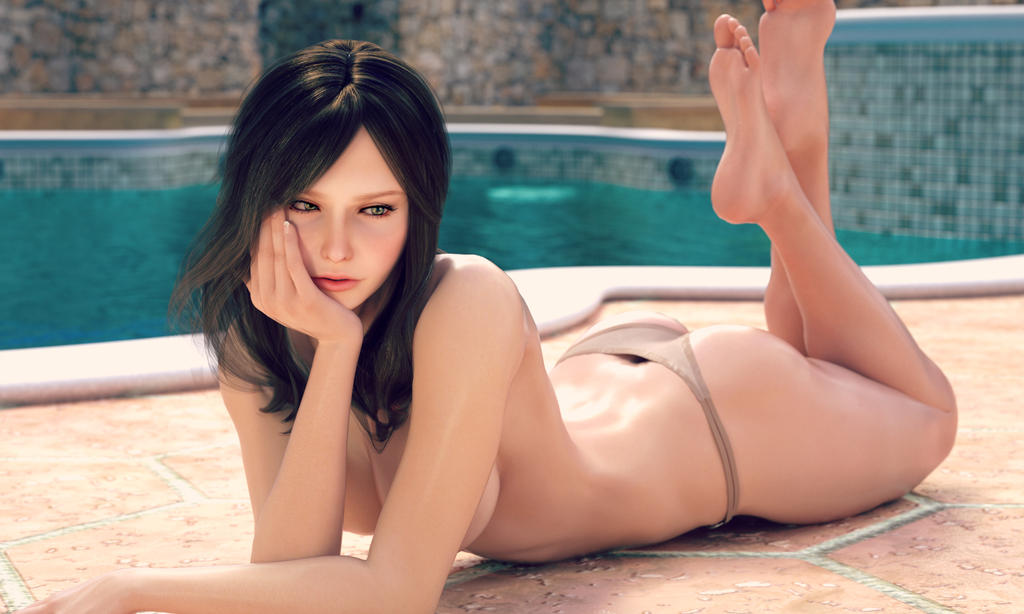 POOL SIDE by haneto
