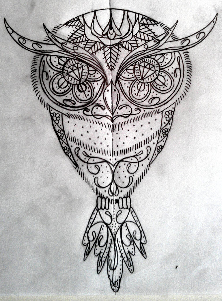 sugar owl by swetattoo