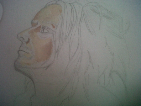 Tim Minchin WIP2 by KrisSelfDstruct