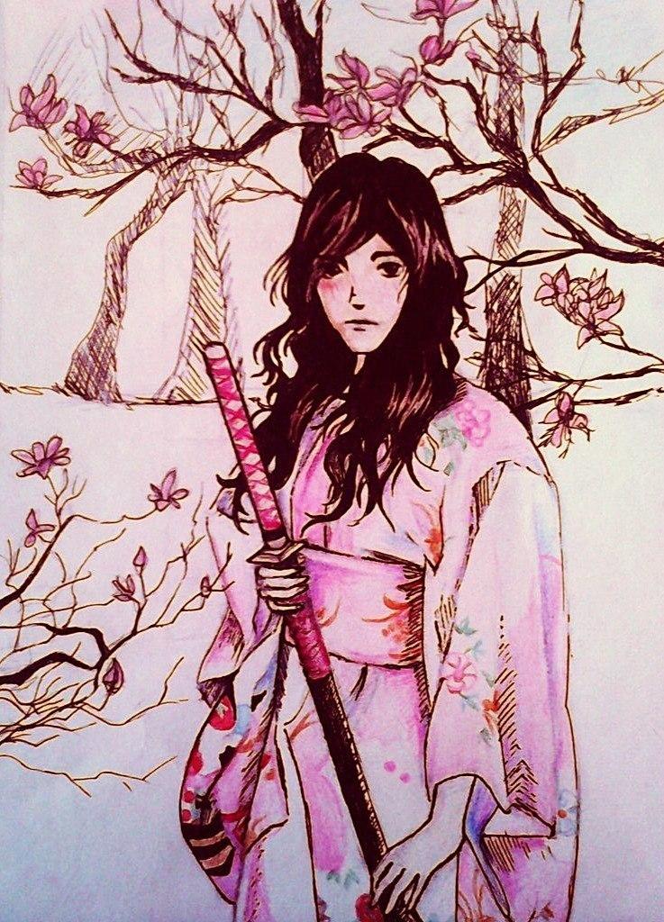 Samurai Series: The Sakura Sorrow by Mizecki