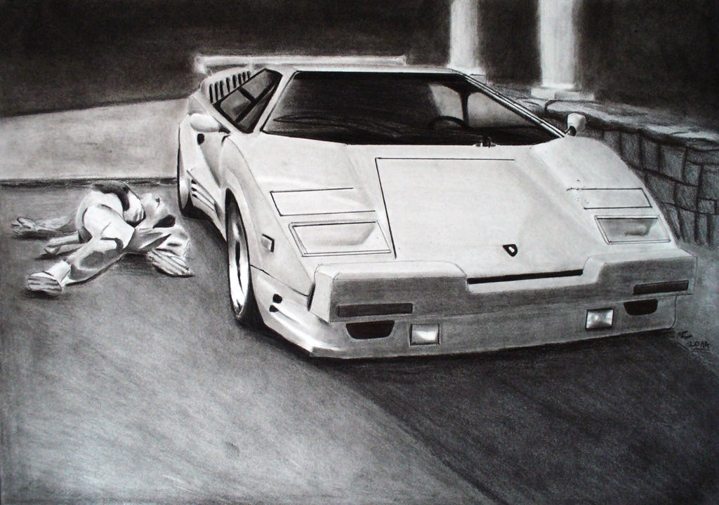 The Wolf Of Wall Street Countach 25th Anniversary By Svkustom On