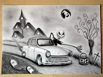 Trabant Happy Halloween.......... by svkustom