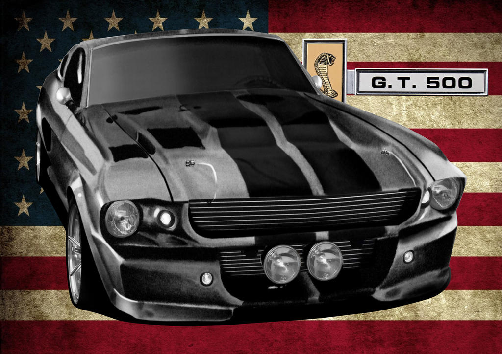 1967 shelby gt500 eleanor by svkustom on deviantart. Black Bedroom Furniture Sets. Home Design Ideas