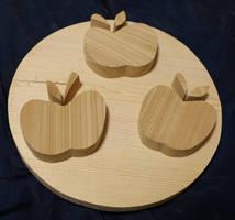 Applejack Cutiemark Plaque