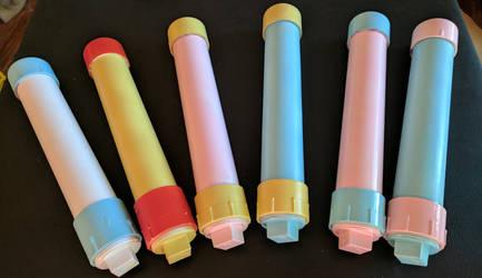 Playmat tubes