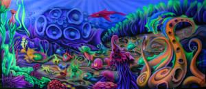Aquaparty.Airbrushed
