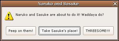 Naruko and Sasuke error