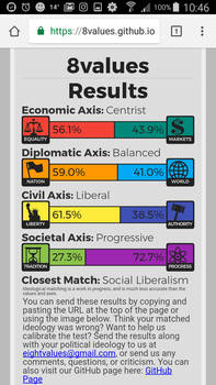 My 8values result