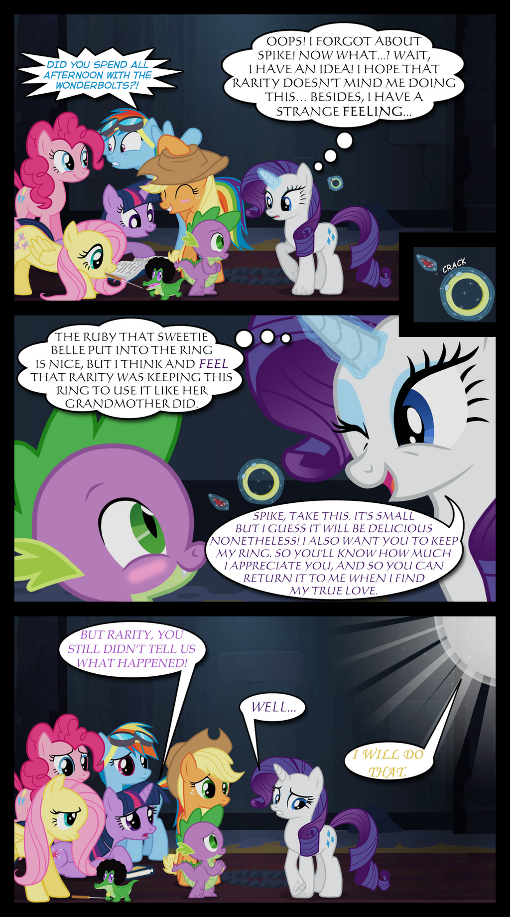 A rare rarity day Part II - Page 123 by BigSnusnu on DeviantArt