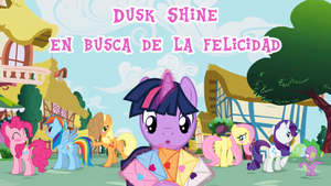 Dusk Shine en busca de la Felicidad - Portada