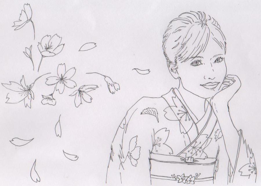 Spring Kimono by dragonaki
