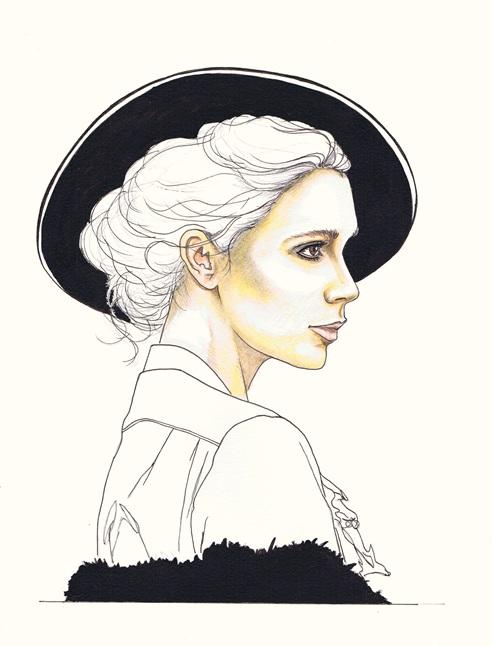 Victoria Beckham by dragonaki