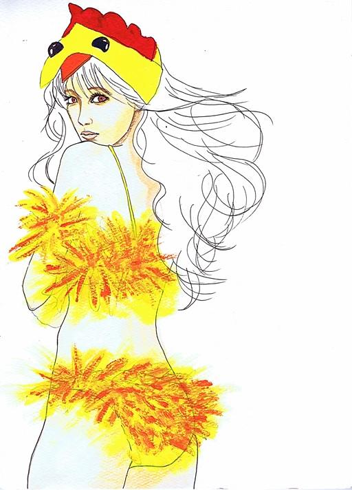 Chick by dragonaki