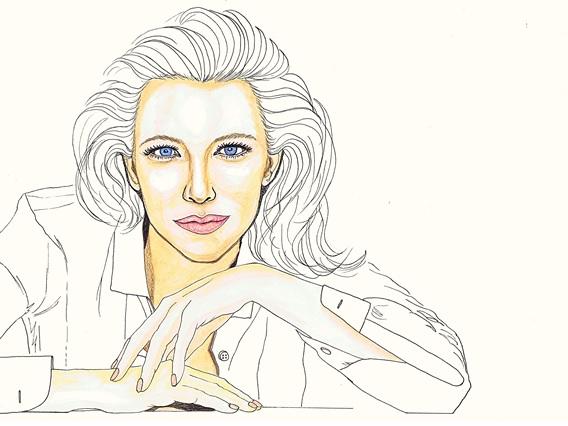 Cate Blanchett by dragonaki