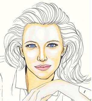 Cate Blanchett. no2 by dragonaki