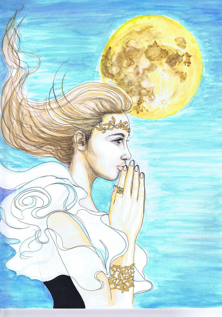 I pray for you by dragonaki