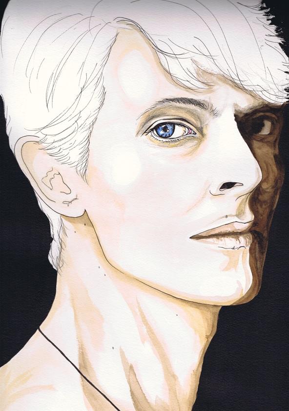 David Bowie   W.I.P by dragonaki