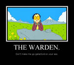 THE WARDEN.