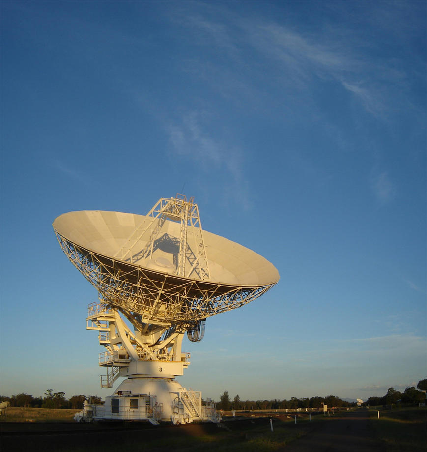 Antenna 3 at Sunset by Chrissyo