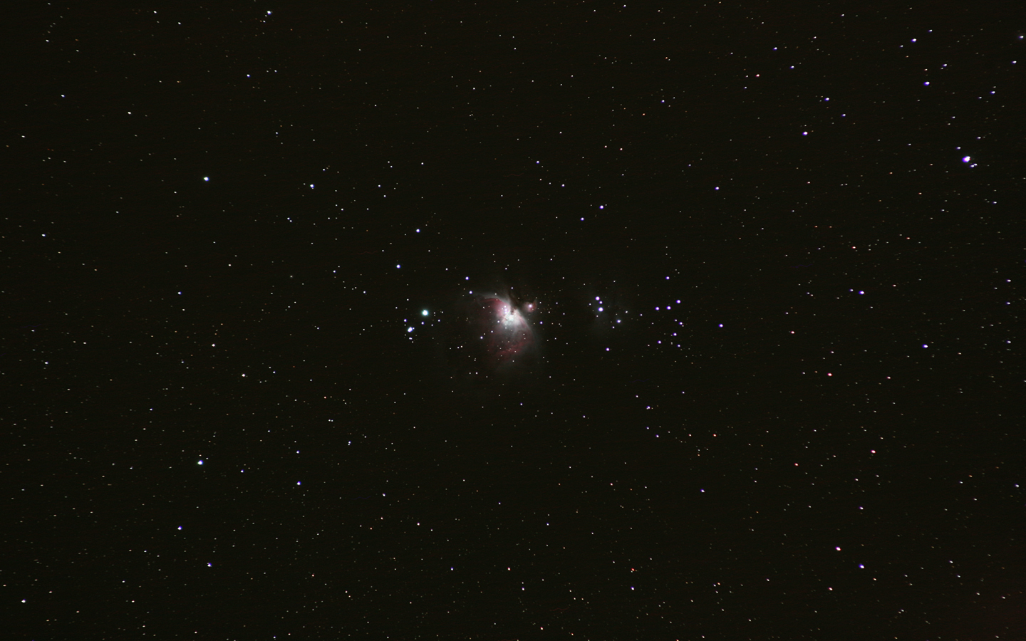 Orion Nebula 25-03-2009 by Chrissyo