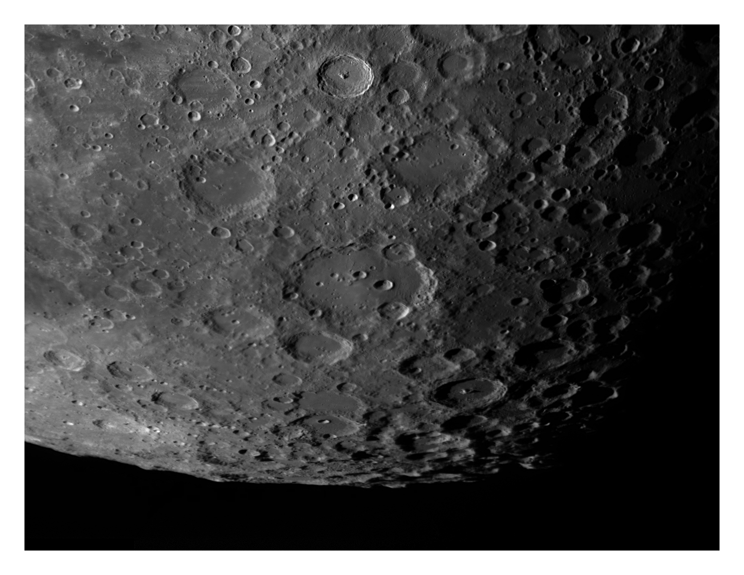 South Lunar Pole 14-06-2009 by Chrissyo