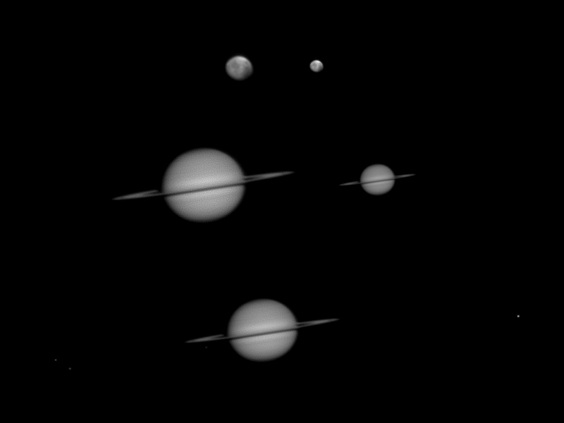 Saturn and Mars 02-05-2010 by Chrissyo