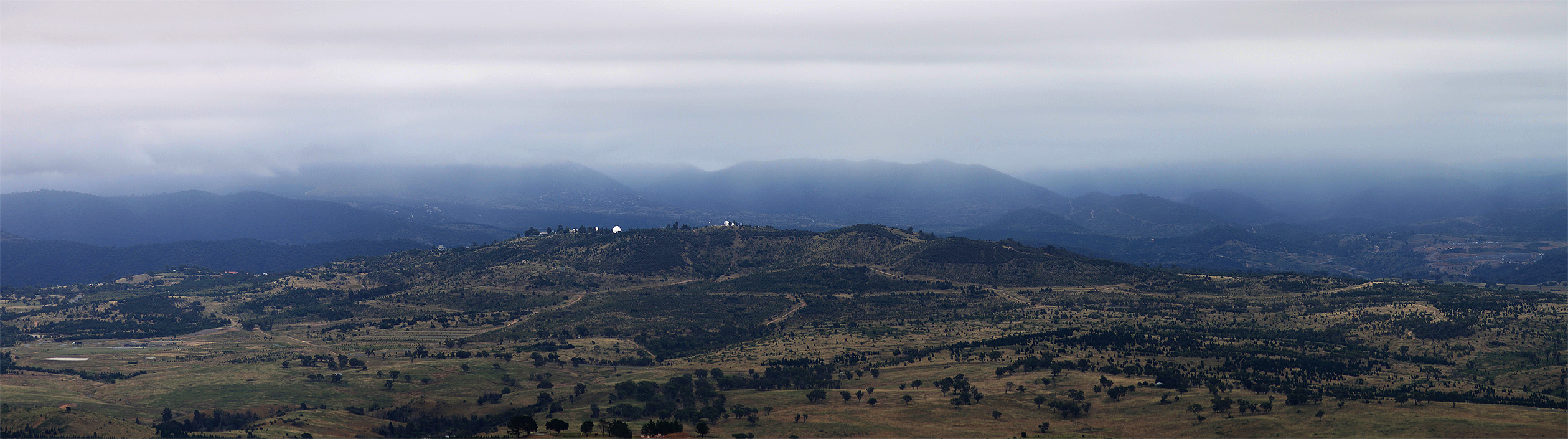 Mount Stromlo Observatory by Chrissyo