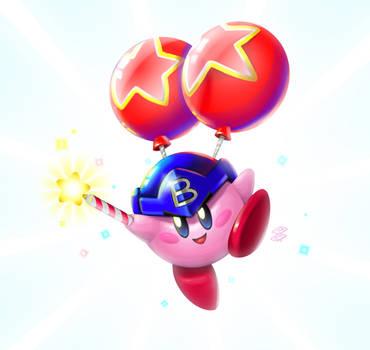 Balloon Fight Kirby