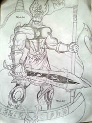 Ravana by DixitArt