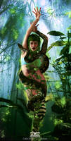 Queen Of Snakes by G-GraphiX59