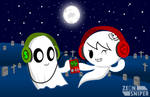 Blooky and carrair