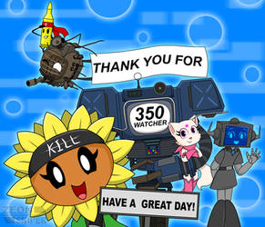 Thank You For 350 Watcher!!! by ZeonSniper