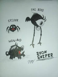 Don't Starve a common Deadly mobs by ZeonSniper