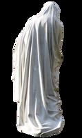 Saint Marry Statue. back view