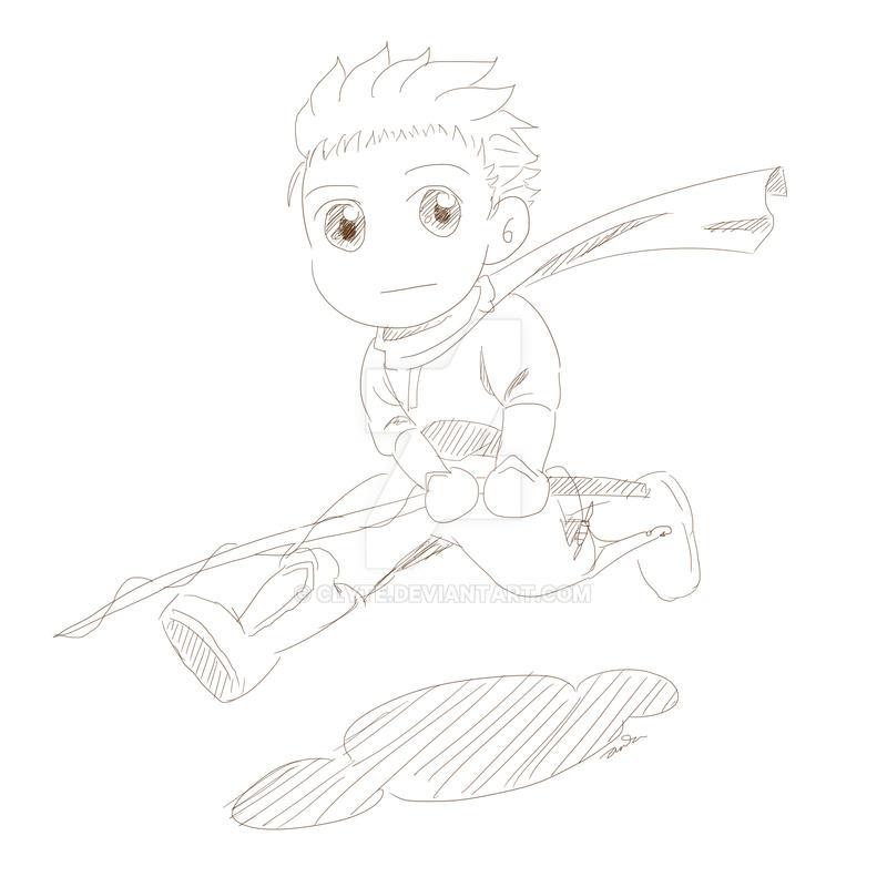 01/04 Chibi sketch by Clyte