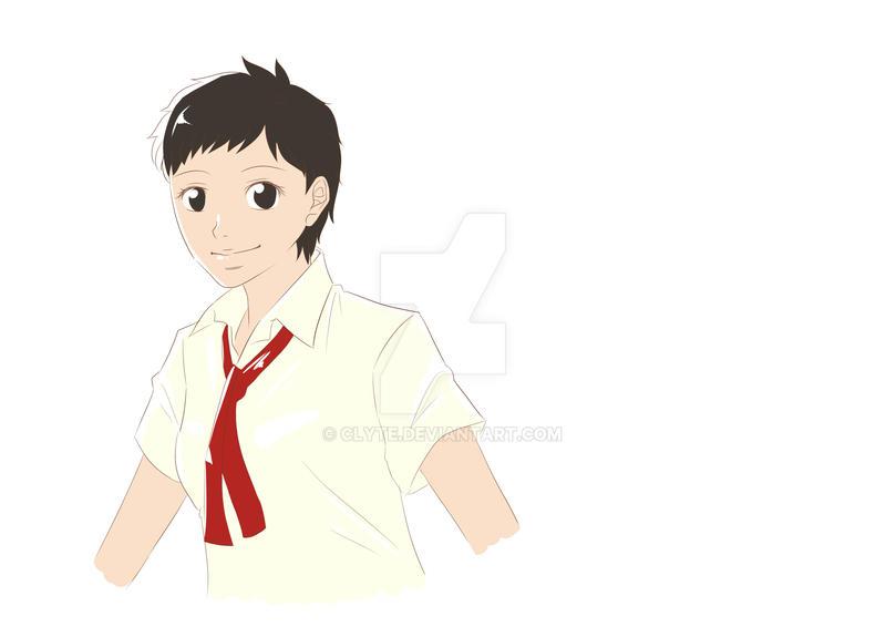 Nishikawa Minako - OC by Clyte