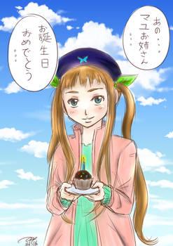 Happy Birthday Mayu