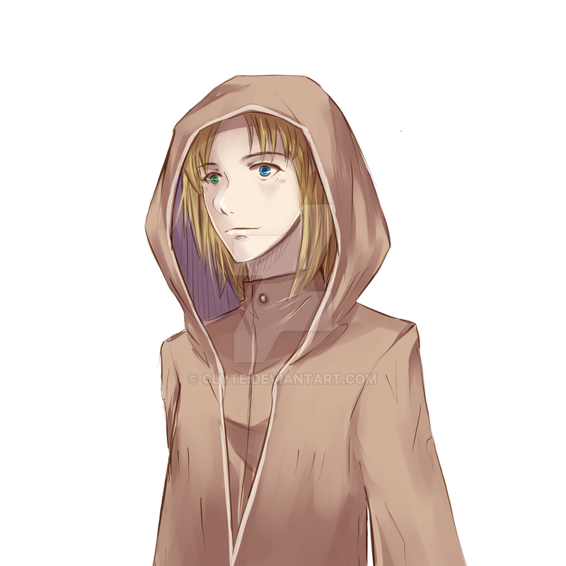 OC - Hooded Man by Clyte