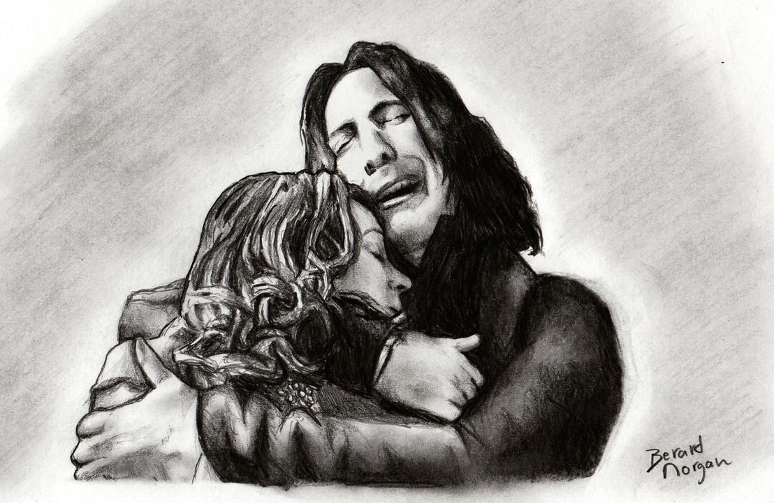 Harry Potter - Severus et Lily by dinoradar
