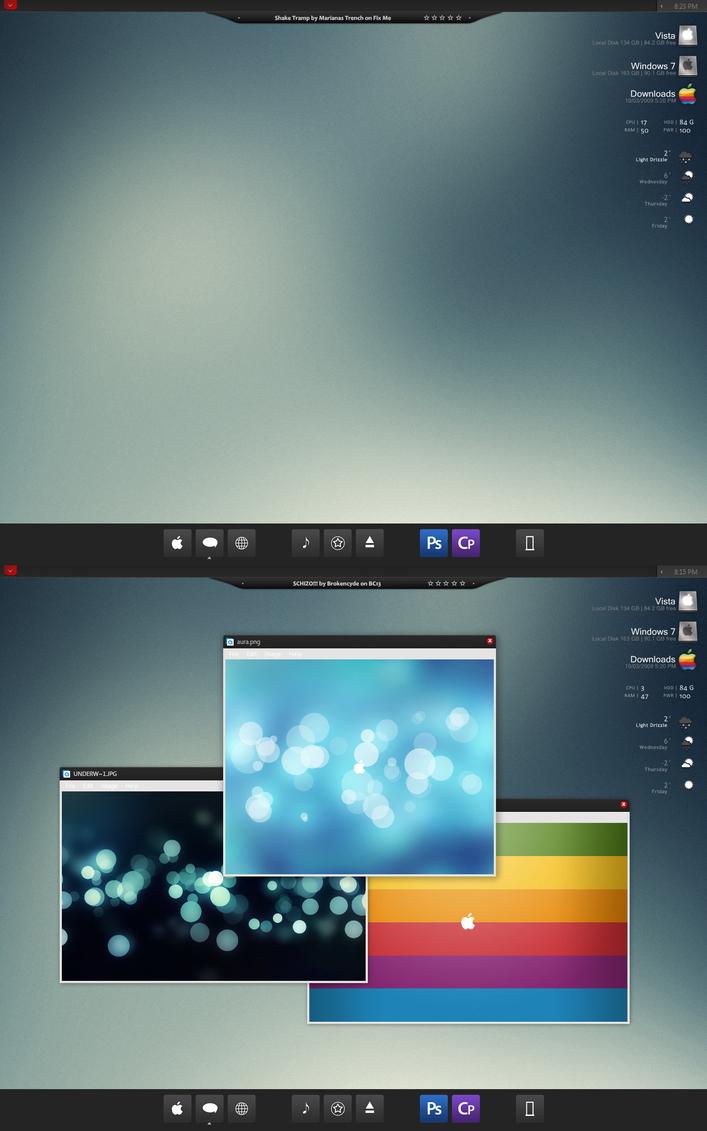 March Desktop '09 by Noise-Less