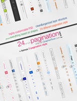 24 Simple Pagination Style - Pack 2 by ShadarL