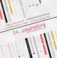 24 Simple Pagination Style - Pack 1 by ShadarL