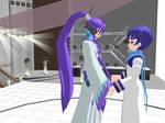 MMD - Gakupo and Kaito