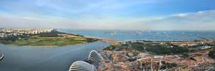 Singapore - Panorama IV by AlHabshi