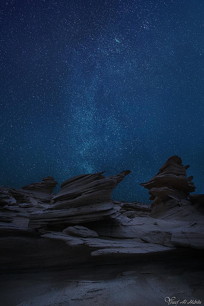 Abu Dhabi Sky by AlHabshi