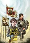 Konstantin and Fruzhin: Crown of Bulgaria by NikosBoukouvalas