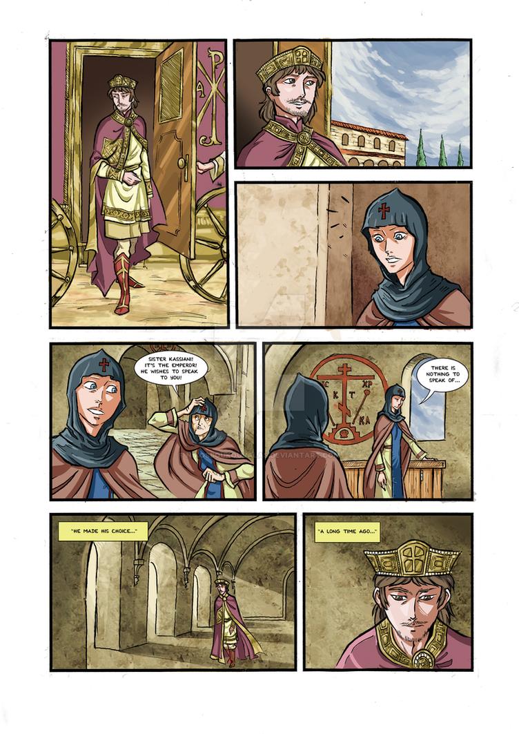 Kassiani and Theophilos page 5 by NikosBoukouvalas